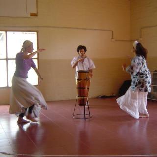 2012 Avamunha con Marecela Gayoso y Paula Ezcurra en San Martin de los Andes