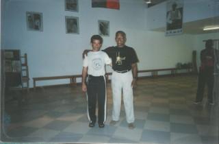 2007 con Mestre Moraes en Salvador de Bahia
