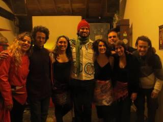 2014 Julio - Con Rafa Ponde ex Nati Roots