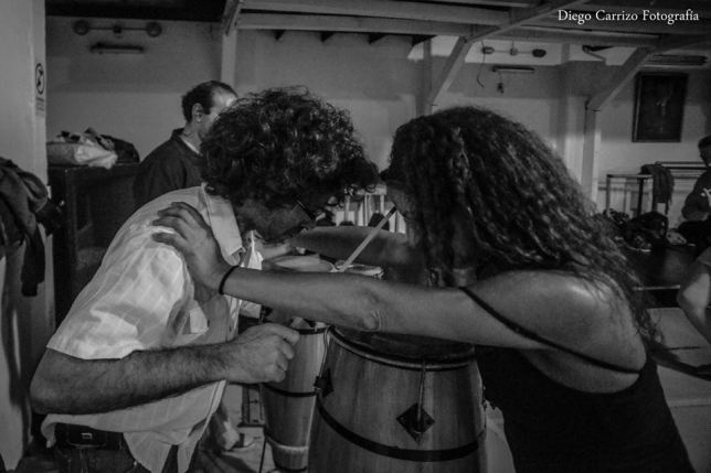 2015 con Rosangela Silvestre - Ph Diego Carrizo