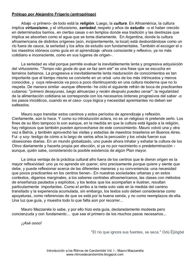 Prólogo por Alejandro Frigerio